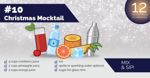 Christmas Mocktail