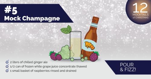 Mocktail Champagne